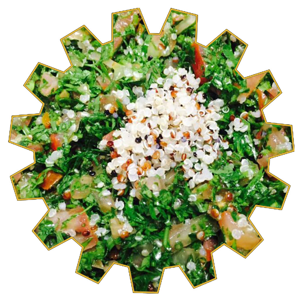 quinoa tabbouleh 6 portions