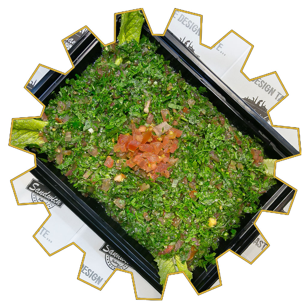 tabbouleh 4 portions