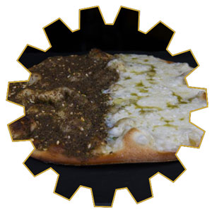 zaatar and cheese