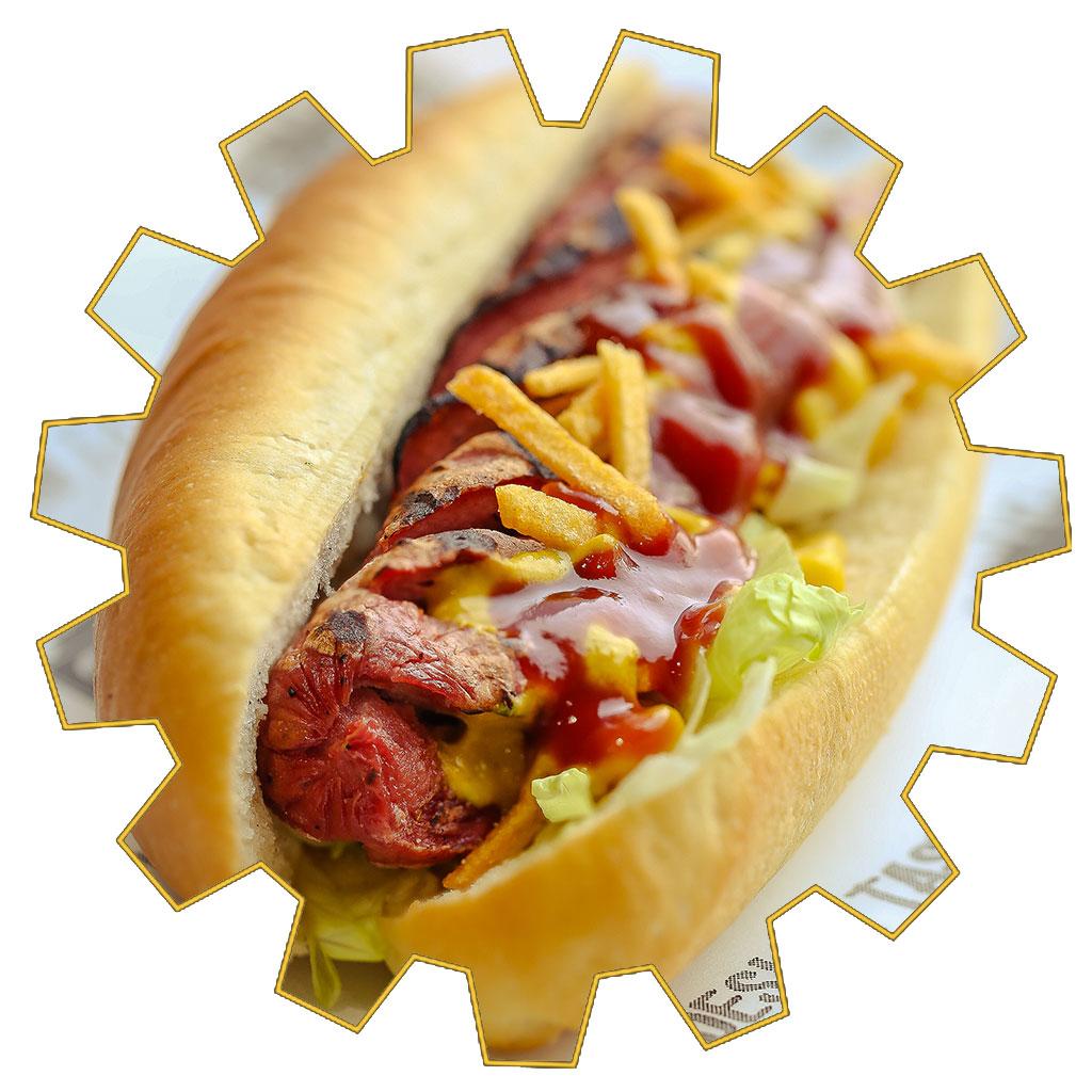 frankfurter hot dog